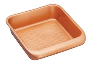 MasterClass Smart Ceramic 24 x 22cm Heavy-Duty Stackable Square Baking Tin