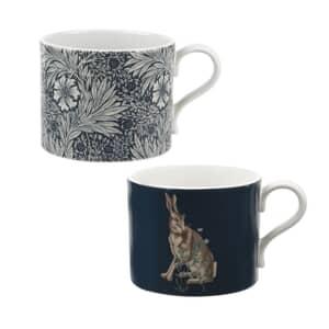 Spode The Original Morris and Co - Marigold And Hare Mugs Set Of 2