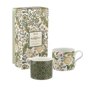 Spode The Original Morris and Co - Wilhelmina and Trellis Mugs Set Of 2
