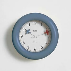 Alessi Michael Graves Wall Clock Blue