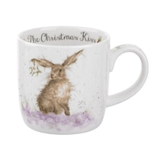 Wrendale Christmas With A Kiss Mug