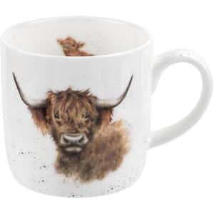 Wrendale Highland Coo Mug
