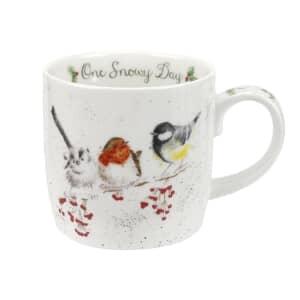 Wrendale One Snowy Day Mug