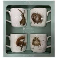 Wrendale Garden Critters 4 Piece Mug Set