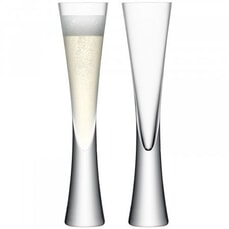 LSA Glassware - Moya Champagne Flutes Set Of 2
