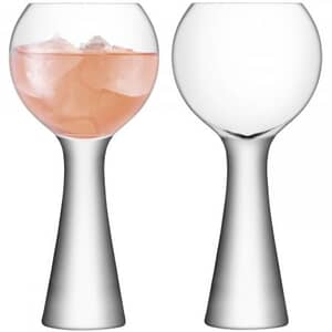 LSA Glassware - Moya Wine Balloon Glasses Set Of 2