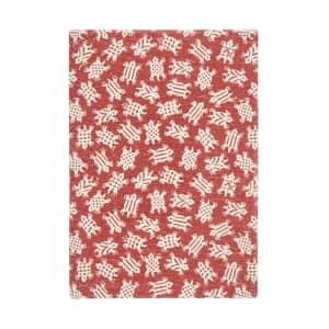 Murmur Kai Medium Hard Back Notebook Red