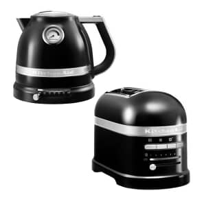 KitchenAid Artisan Kettle And 2 Slot Toaster Onyx Black