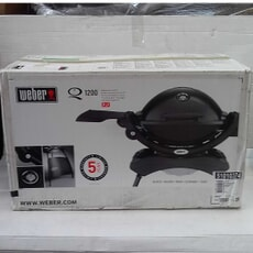 Openbox Weber� Q� 1200 Black with Stand