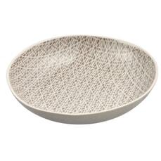 Murmur Stoneware Pasta Bowl Grey