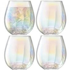 LSA Glassware - Pearl Tumblers Set Of 4