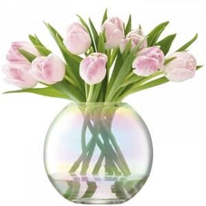LSA Glassware - Pearl Vase 16cm