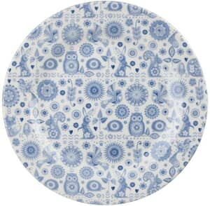 Churchill China Penzance Open Rows Salad Plate Set Of 4