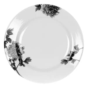 Royal Worcester Peony Black - Dinner Plate