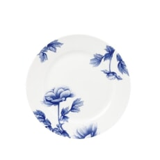 Royal Worcester Peony Blue Dessert/Salad Plate