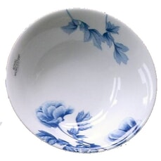Royal Worcester Peony Blue Cereal Bowl