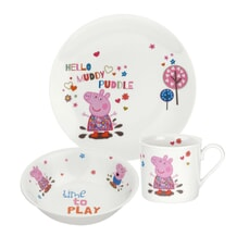 Peppa Pig 3 Piece Set