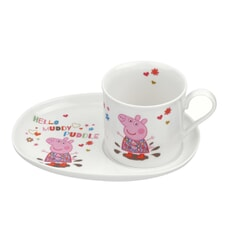 Peppa Pig Mug And Snack Plate