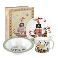 Churchill Little Rhymes - Pirates Melamine Set