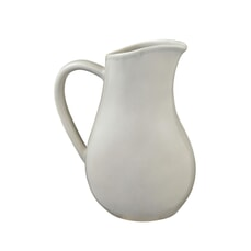 Murmur Stoneware Large Pitcher Jug Grey