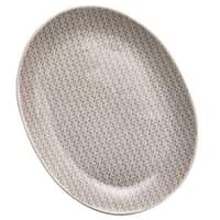 Murmur Stoneware Large Platter Grey