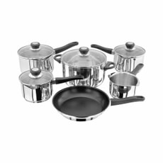 Judge Vista 6 Piece Draining Saucepan Set