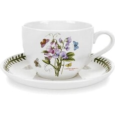 Portmeirion Botanic Garden - Teacup And Saucer Sweet Pea