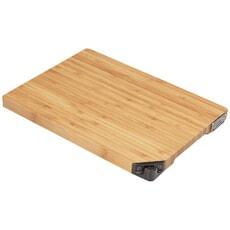 Stellar Bamboo Chopping Board With Knife Sharpener