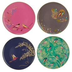 Sara Miller Chelsea Collection - Cake Plates Set Of 4