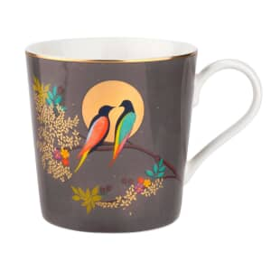 Sara Miller Chelsea Collection - Mug Dark Grey