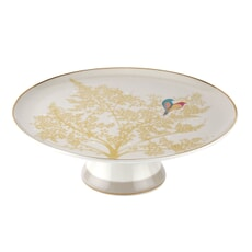 Sara Miller Chelsea Collection - Footed Cake Stand Light Grey