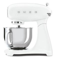 Smeg Stand Mixer Full White 4.8L SMF03WHUK