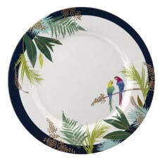 Sara Miller Parrot Collection - Melamine Dinner Plate