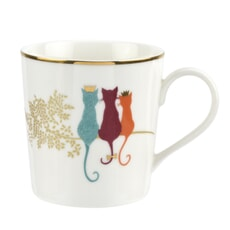 Sara Miller Piccadilly Mug - Feline Friends