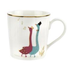 Sara Miller Piccadilly Mug - Gliding Geese