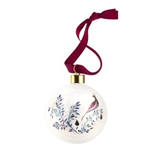 Sara Miller Christmas Collection - Bauble Partridge In A Pear Tree