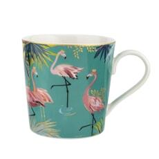 Sara Miller Tahiti  - Flamingo Mug