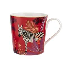 Sara Miller Tahiti  - Zebra Mug