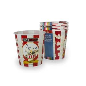 Smart Large Popcorn Buckets Pack Of 6
