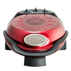 Smart Rotating Stone Bake and Grill Pizza Oven Red