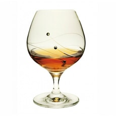 Dartington Glitz Brandy/Liqueur Pair