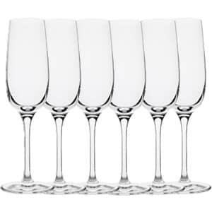 Dartington Drink Champagne Flute - 6 Pack