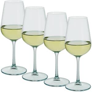 Dartington Profile White Wine Glass Set Of 4