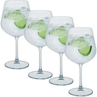 Free Set of 4 Dartington Profile Gin Copa Glasses