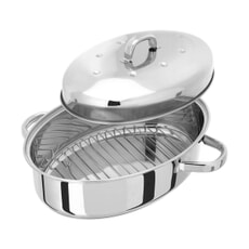 Judge Speciality Cookware Thermic Oval Roaster 35 x 25cm