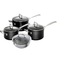 Le Creuset TNS Saucepan Pan Set With Steamer