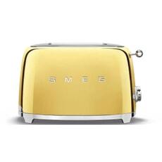 Smeg 2 Slice Toaster Gold
