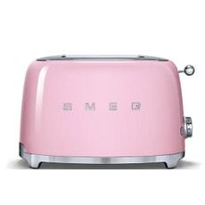 Smeg 2 Slice Toaster Pink