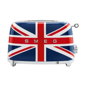 Smeg 2 Slice Toaster Union Jack