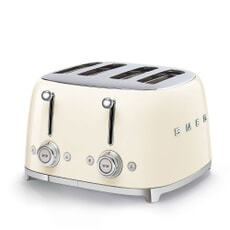 Smeg 50s Retro 4 Slice Toaster Cream